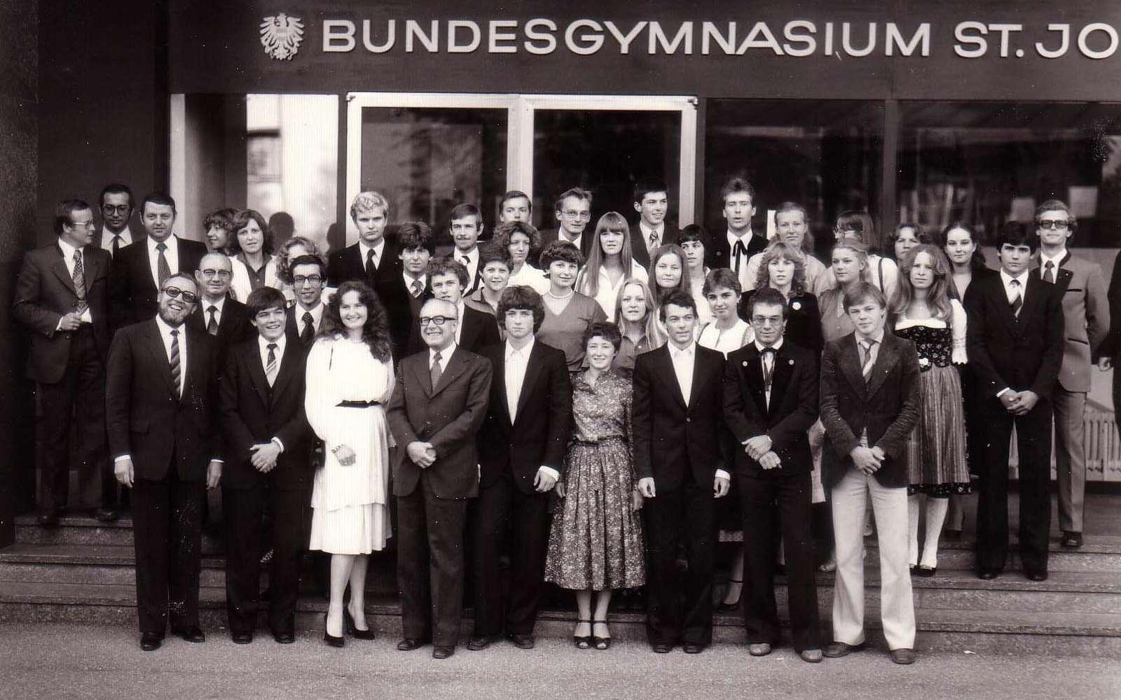 Maturajahrgang 1979 - Klasse 8b